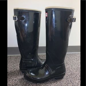 Women's Hunter Gloss Rain Boots